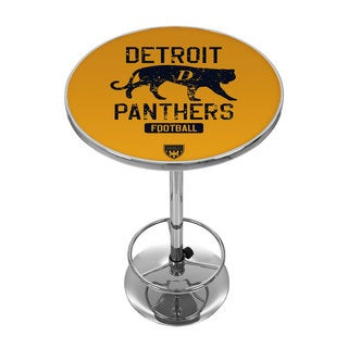VAF Detroit Panthers Chrome Pub Table
