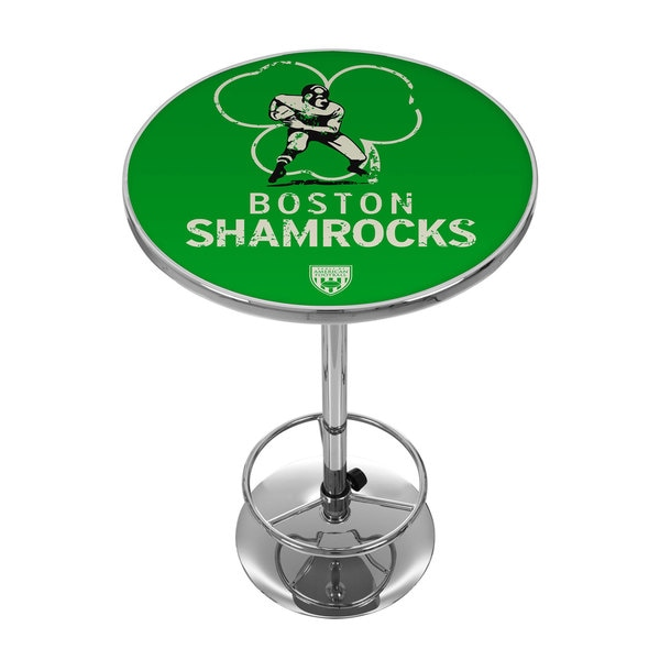 VAF Boston Shamrocks Chrome Pub Table