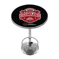 Ohio State University National Champions Chrome Pub Table - Fade