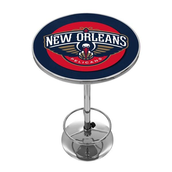 New Orleans Pelicans NBA Chrome Pub Table