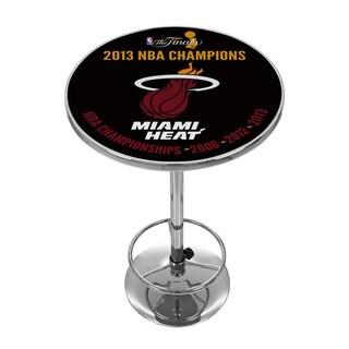 Miami Heat 2013 NBA Champions NBA Chrome Pub Table