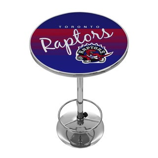 Toronto Raptors Hardwood Classics NBA Chrome Pub Table