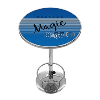 Orlando Magic Hardwood Classics NBA Chrome Pub Table