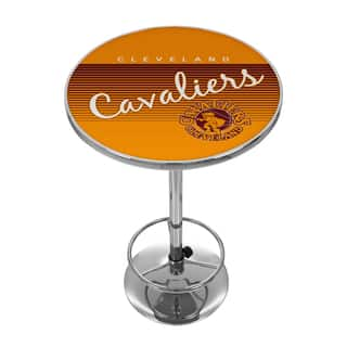 Cleveland Cavaliers Hardwood Classics NBA Chrome Pub Table|https://ak1.ostkcdn.com/images/products/10659541/P17725567.jpg?impolicy=medium