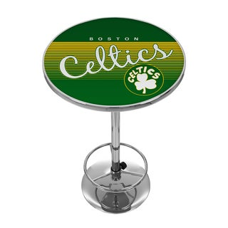 Boston Celtics Hardwood Classics NBA Chrome Pub Table