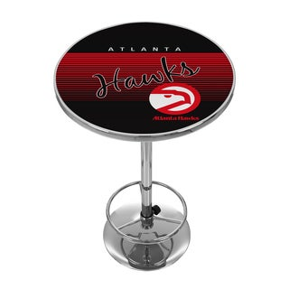 Atlanta Hawks Hardwood Classics NBA Chrome Pub Table