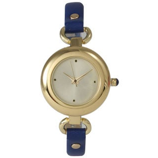 Olivia Pratt Women's Simple and Dainty Leather Watch