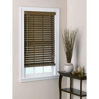 "2"" Bamboo Window Blind - Chestnut"