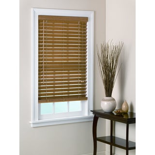 Bamboo Pecan Window Blind