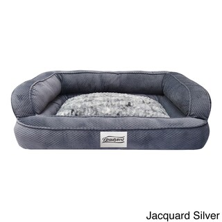 Simmons Beautyrest Colossal Rest Orthopedic Memory Foam Dog Bed (4 options available)