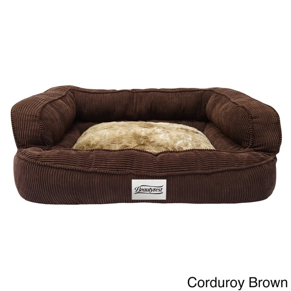simmons beautyrest colossal rest orthopedic memory foam dog bed free shipping today