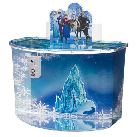 Penn Plax Disney Frozen Aquarium Kit