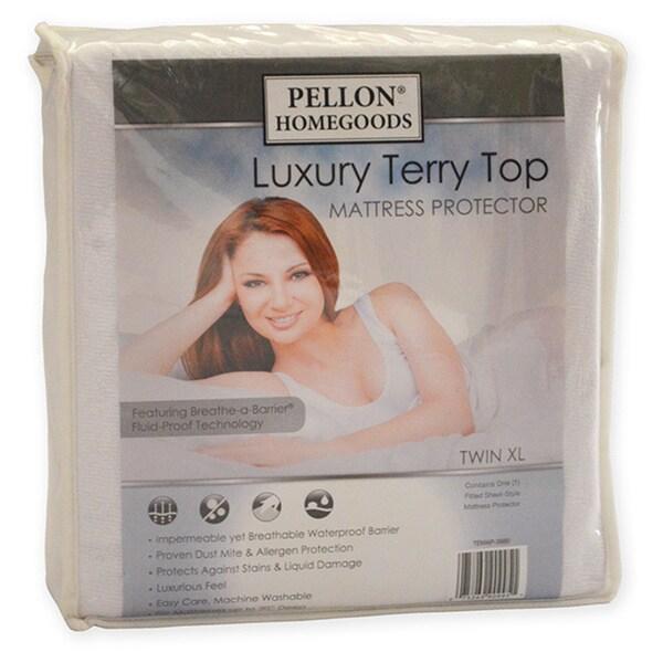 Pellon Luxury Terry Top Mattress Protector