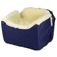 Snoozer Denim Lookout I Blue Pet Car Seat