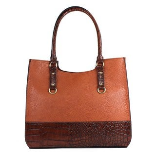 Emilie M Kimberley Two-Tone Scoop Tote