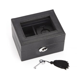 Royce Leather Luxury Smart Watch Box and USB Charging Storage Unit
