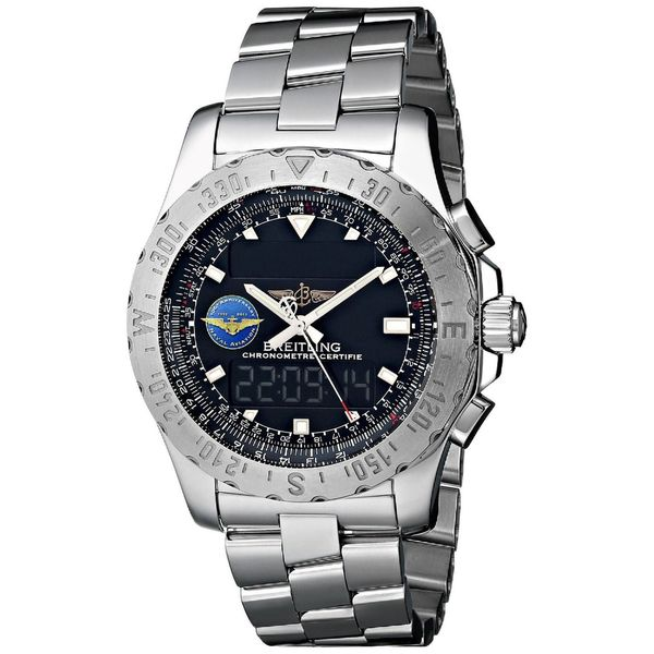 Breitling Men's A7836323-BA86 'Professional Airwolf' Analog-Digital Stainless Steel Watch. Opens flyout.