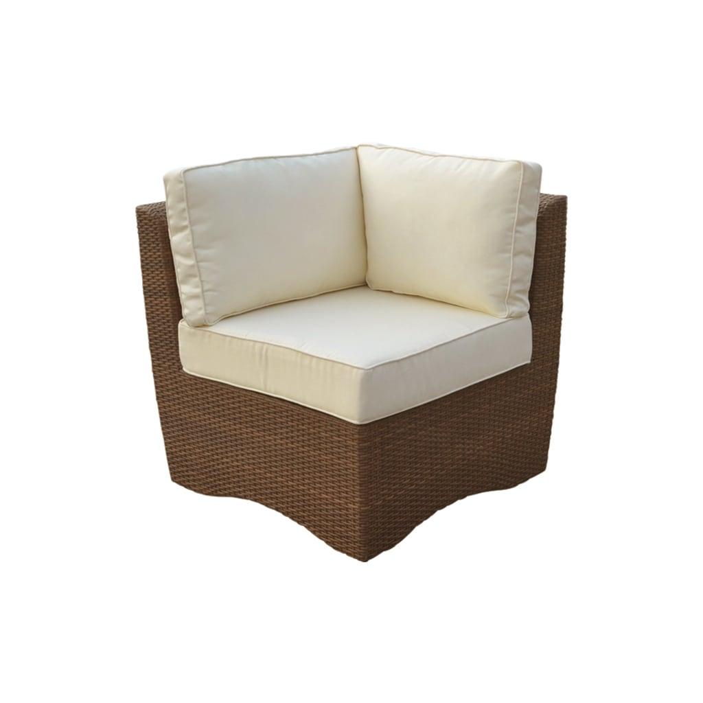 Panama Jack Key Biscayne Corner Chair, Brown, Size Single...