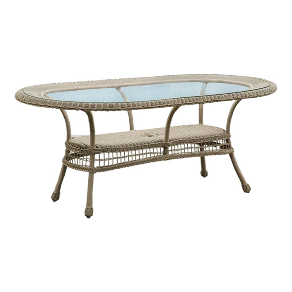 Panama Jack Carolina Beach Oval Dining Table (Carolina Be...