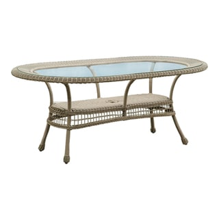 Panama Jack Carolina Beach Oval Dining Table
