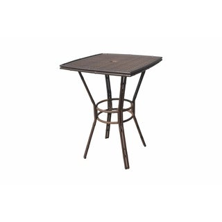 "Panama Jack Rum Cay 32"" Square Round Pub Table"