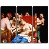 Design Art 'Guido Cagnacci - The Death of Cleopatra' Canvas Art Print
