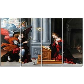 Design Art 'Garofalo - Annunciation' Canvas Art Print