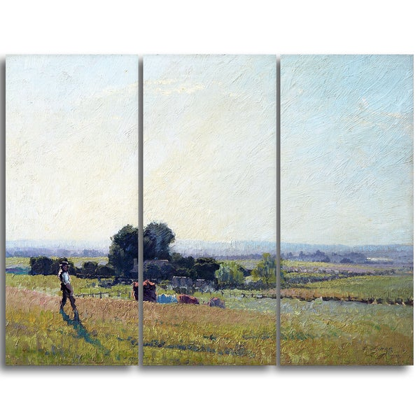 Design Art 'Elioth Gruner - Morning Light' Canvas Art Print