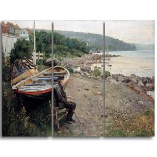 Design Art 'Hans Heyerdahl - View from Asgardstrand' Canvas Art Print