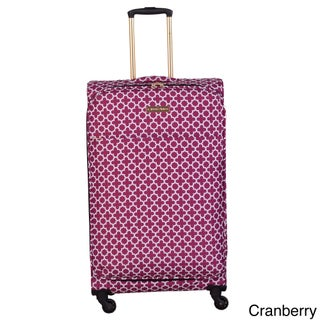 Jenni Chan Aria Broadway 28-inch Upright Spinner Suitcase - 18 (3 options available)
