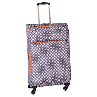 Jenni Chan Aria Broadway 28-inch Upright Spinner Suitcase