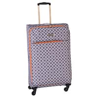 Jenni Chan Aria Broadway 28-inch Upright Spinner Suitcase - 18