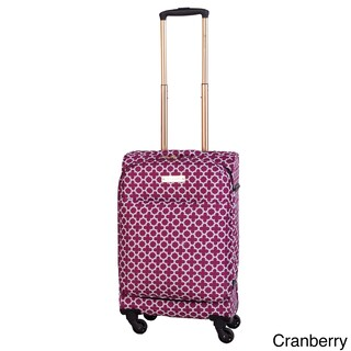 Jenni Chan Aria Broadway 20-inch Carry On Upright Spinner Suitcase (3 options available)
