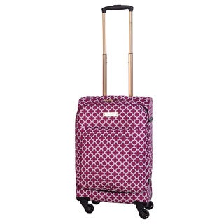 Jenni Chan Aria Broadway 20-inch Carry On Upright Spinner Suitcase