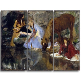 Design Art 'Edgar Degas - Portrait of Mlle Fiocre in the Ballet' Canvas Art Print