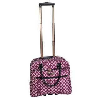 Jenni Chan Aria Broadway 18-inch Carry-on Rolling Tote