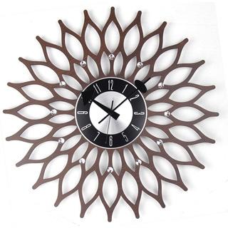 Mid Century Modern Wooden 20-inch sunflower