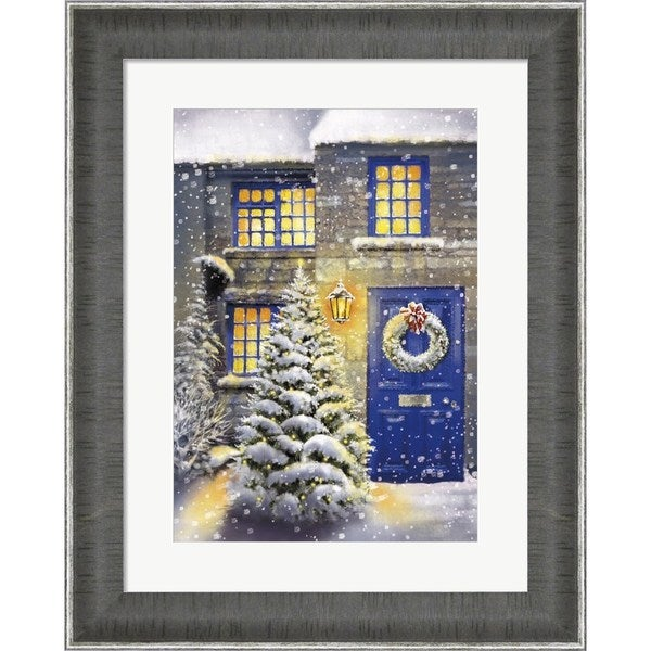 dbk art licensing blue door and white christmas