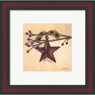 Linda Spivey 'Peace' Framed Art