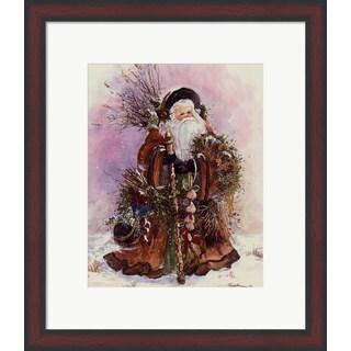Peggy Abrams 'Santa's Bounty' Framed Art