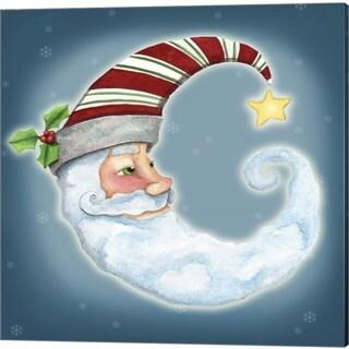 Jennifer Nilsson 'Santa Moon' Canvas Art