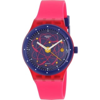 Swatch Women's Sistem51 SUTR401 Pink Silicone Swiss Automatic Watch