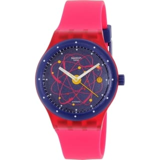 Swatch Women's Sistem51 SUTR401 Pink Silicone Swiss Automatic Watch|https://ak1.ostkcdn.com/images/products/10660241/P17726167.jpg?impolicy=medium