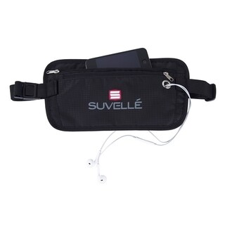 Suvelle RFID-Blocking Anti-Theft Hidden Waist Belt Travel Pouch (2 options available)