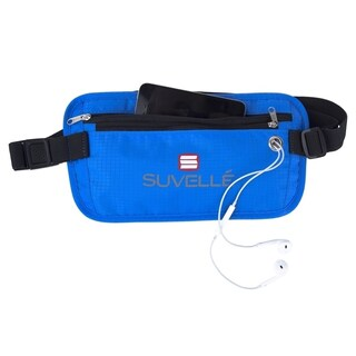 Suvelle RFID-Blocking Anti-Theft Hidden Waist Belt Travel Pouch (3 options available)