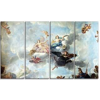 Design Art 'René Antoine Houasse - The Royal Magnificence' Religious Canvas Art Prints