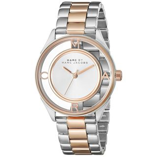 Marc Jacobs Women's MBM3436 'Thether' Two-Tone Stainless Steel Watch