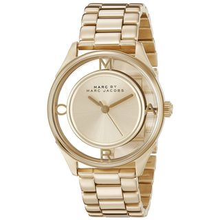 Marc Jacobs Women's MBM3413 'Thether' Gold-Tone Stainless Steel Watch