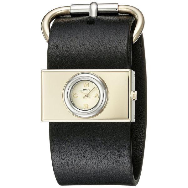 Marc Jacobs Women's MBM1394 'Viv' Black Leather Watch