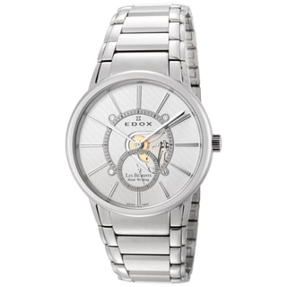 Edox Men's Stainless Steel ED-72011 3 AIN Mechanical Watch